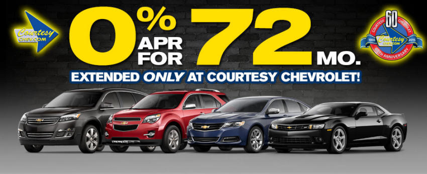 Chevy 0% financing
