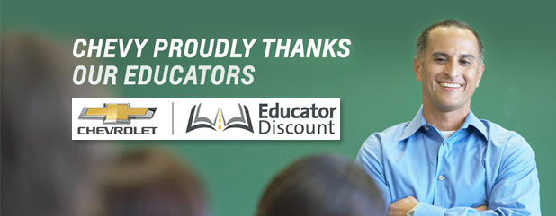 educator discount chevy