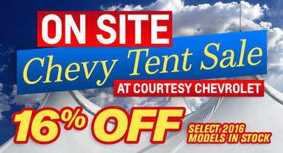 Chevy Tent Sale